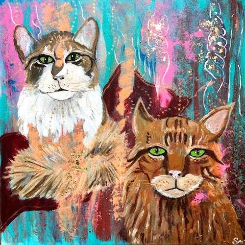 Kraftbild energetisches Portrait von deinem Tier 2