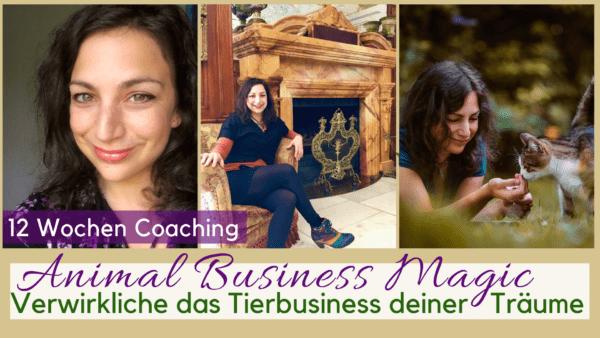 Tierbusiness Sonja Neuroth Erfolg Berufung mit Tieren