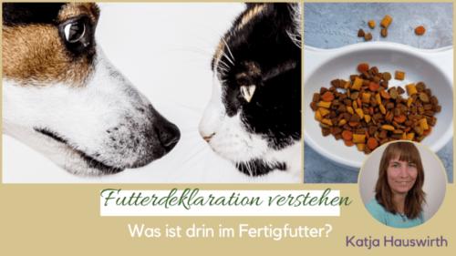 Katzenfutter Hundefutter verstehen Inhaltsstoffe