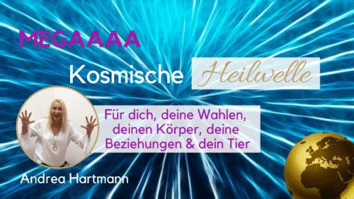 Kosmische Heilwelle Andrea Hartmann Tiere