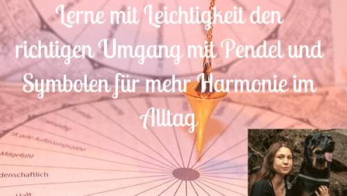Ina Allard Pendelkurs Symbole