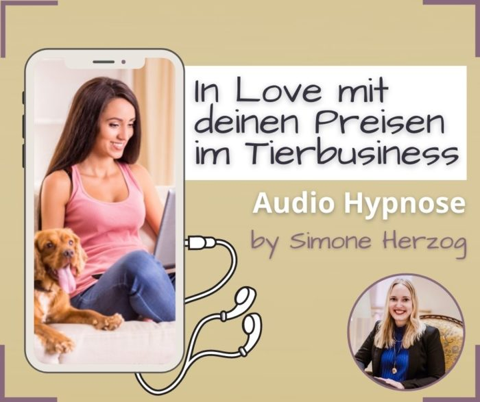 Preisfindung Tierbusiness Hypnose
