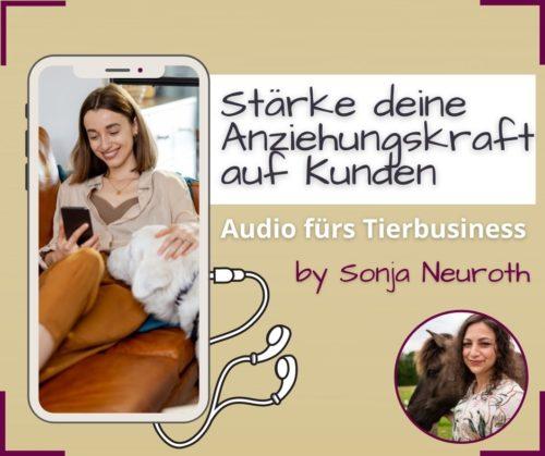 Tierbusiness Kundengewinnung Audio