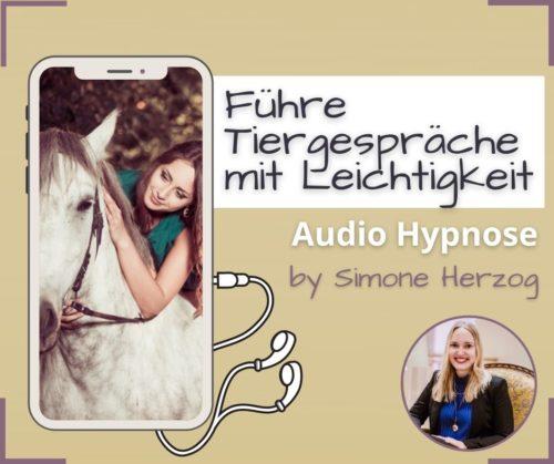 Tierkommunikation lernen Hypnose