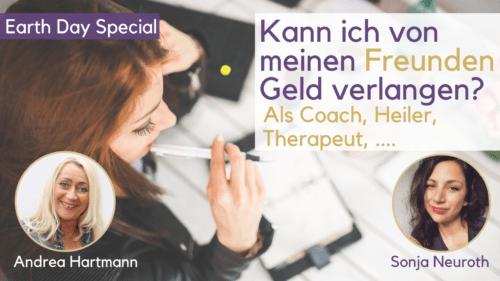 Freundschaftspreis von Freunden Geld verlangen Dienstleistung Coach